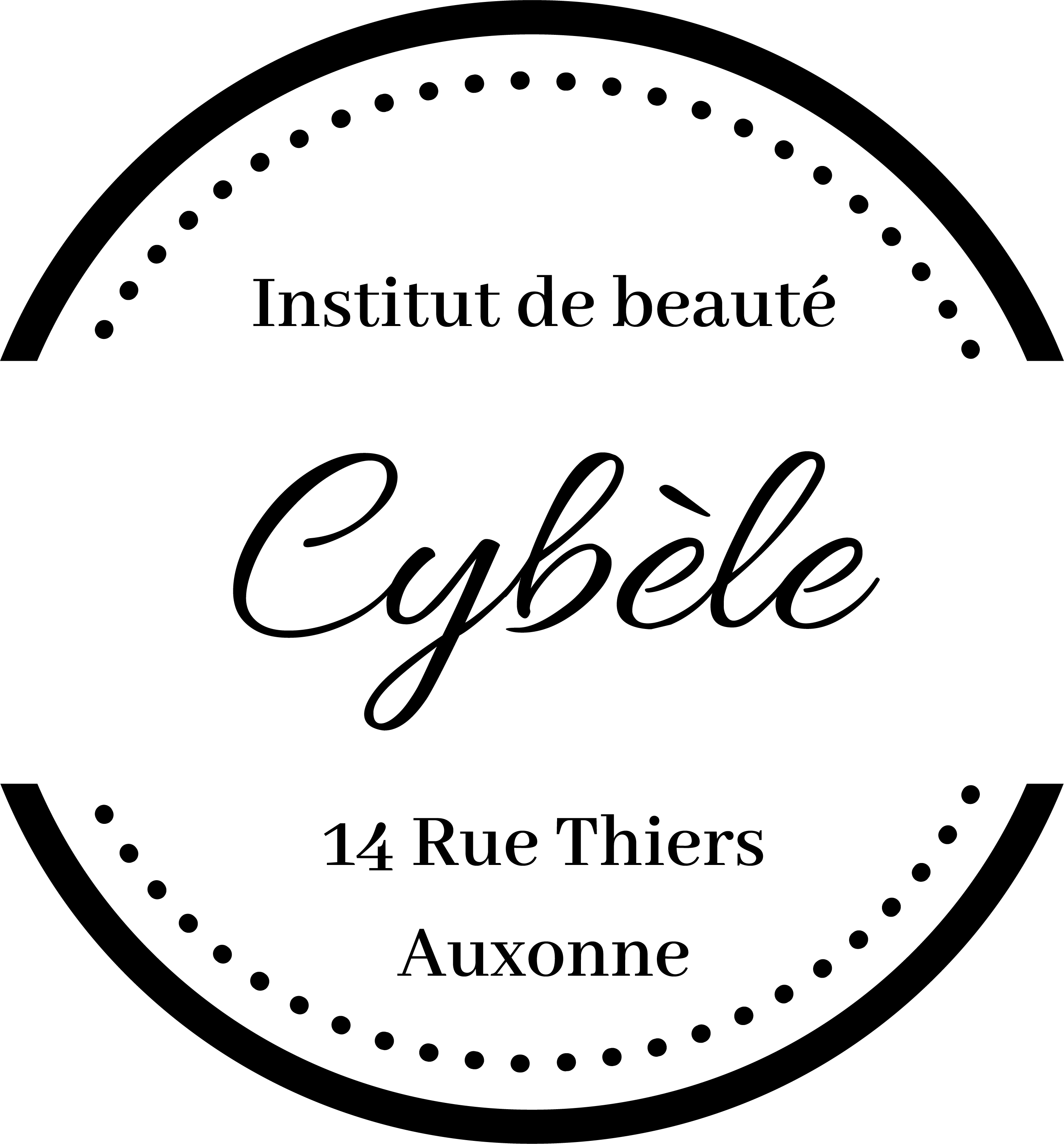 Logo Salon de Beauté - Institut Cybèle Auxonne